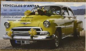 Location de vehicule de collection mariage baptême ceremonies