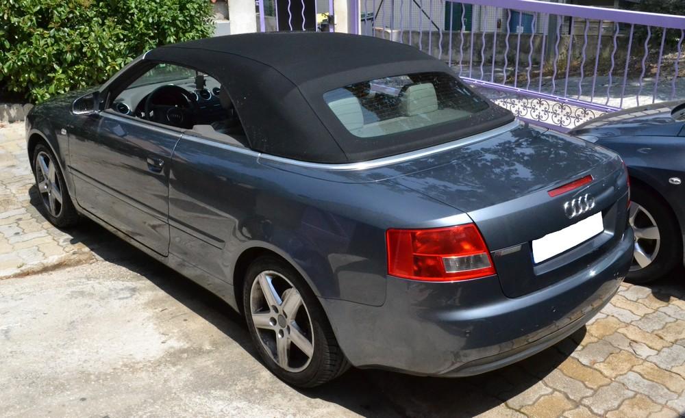 changer réparation capote Audi A4 Sanary bandol toulon hyeres marseille var