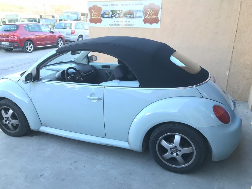 changer capote de new beetle